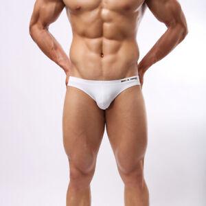 Men-039-s-Fashion-Briefs-Sexy-Bikini-low-rise-Underwear-Beachwear-Brave-Person-S-XL