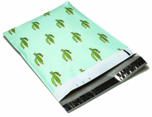 25 10x13 Cactus Designer Mailers Poly Shipping Envelopes Boutique Bags