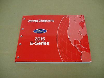 2015 Ford Econoline E-Van E150 E250 WIRING DIAGRAM service ...