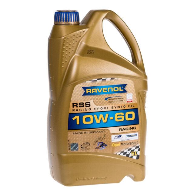 5 Liter RAVENOL RSS Racing Sport Synto 10W-60, Motoröl 1141100-005-01-999