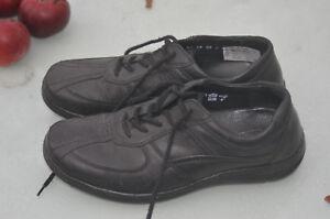 Details zu Waldläufer Herren Schuhe, Gr. 7, Weite H, schwarz, kaum getragen, vgl. Fotos!