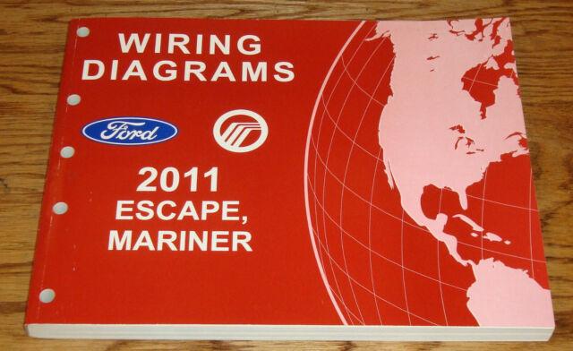 Original 2011 Ford Escape Mercury Mariner Wiring Diagrams