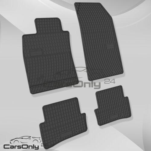Premium IN GOMMA-TAPPETINI RENAULT CLIO III IV tappetini in gomma 100/% compatibile