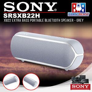 Sony Srsxb22h Xb22 Extra Bass Altavoz Portatil Bluetooth Gris Ebay