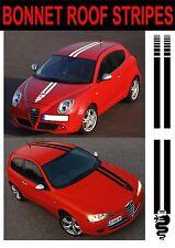 Alfa Romeo Motorhaube Dach Streifen 146 146 147 156 Mito GTV GT