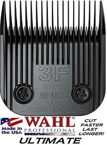 Wahl Ultime Concours Animaux Soins #3f Blade Fit Plupart Oster, Andis Pinces