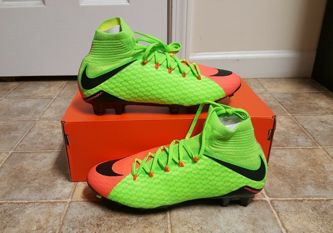 Nike Hypervenom Phatal III FG Soccer Cleat Cleat Cleat Men's SZ 8 NEW 852554-308 CR7 QS SG 0b900f