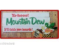 Mountain Dew Soda Image Refrigerator Magnet Gift Card Man Cave Item