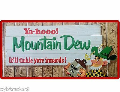 Mountain Dew Soda Image  Refrigerator  Magnet Gift Card Man Cave Item