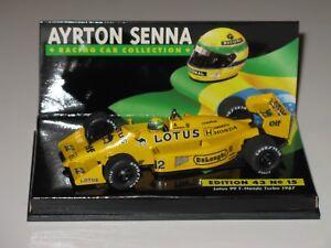 Lotus 99t Honda 1987 - Senna F1 1/43 Minichamps / spark