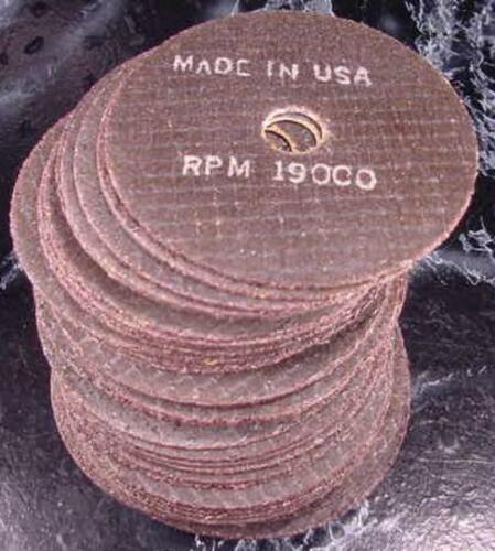 "20pc 4/"" CUT OFF WHEELS Made USA 1//16 x 5//8 Arbor tool blade grinder sander wheel"