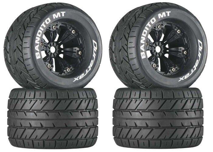 NEW DuraTrax E-Revo Summit T-Maxx Mounted Bandito MT Tire   Wheel DTXC3576