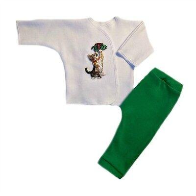Jacquis Unisex Baby Gentle Giraffe Shirt