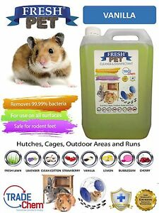 5L-FRESH-PET-VANILLA-Rodent-Specialist-Disinfectant-Rabbit-Hutch-Cage-Runs