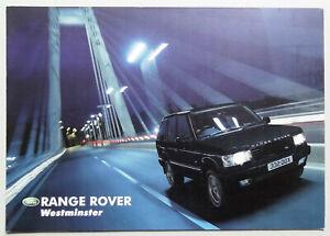 V12888-LAND-ROVER-RANGE-ROVER-MK2-039-WESTMINSTER-039-DEPLIANT-2001-15x21-CH-D