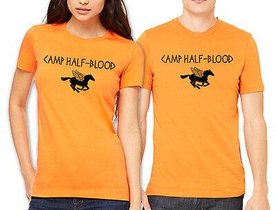 Camp Half Blood T-shirt Percy Jackson dieux Olympien Halloween costume chemises