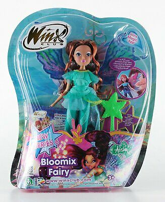 Winx Club Bloomix Fairy Aisha Doll Bambola Giochi Preziosi Witty