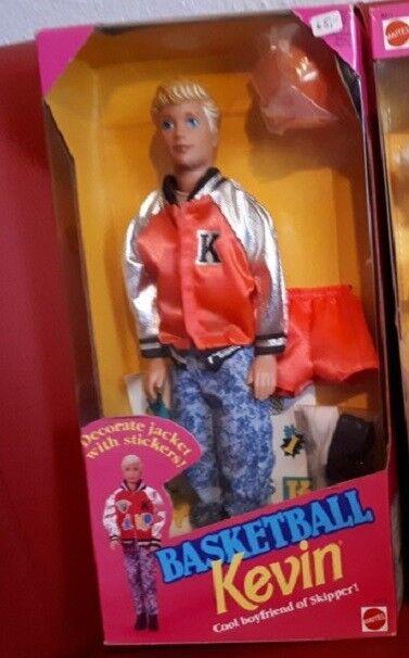 OVP NRFB Barbie Basketball Kevin 1992 Boyfriend Skipper RARITÄT Teenager Junge