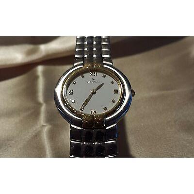 Movado Mosaic Diamond 95.A1.826 RARE  Women's Stainless Steel Swiss Quartz Watch