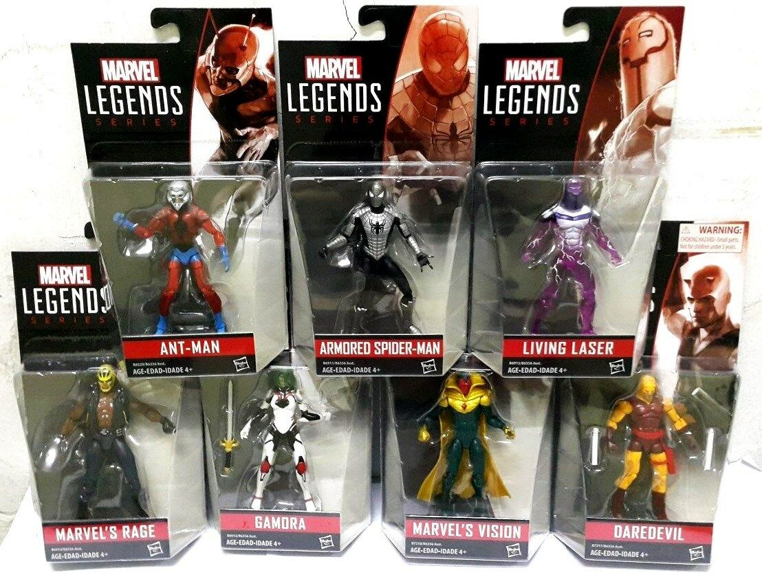 MARVEL INFINITE SERIES 3.75  WAVE 2 2016 SET OF 7 ( ANT-MAN GAMORA RAGE VISION)