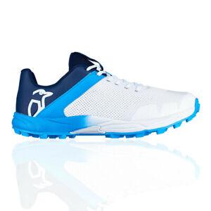 Kookaburra-KC-2-0-pour-Homme-en-Caoutchouc-Cricket-Chaussures-Bleu-Blanc-Sport-Respirant