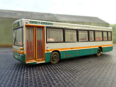 Efe 1.76 Plaxton Pointer Dennis Dart Grey Green Bus (lineside Weathered) Boxed