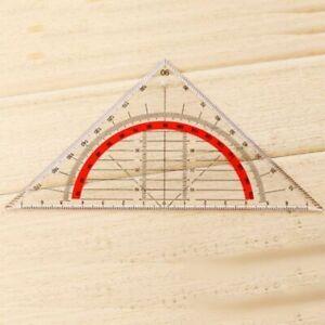 Geodreieck-unzerbrechlich-flexibel-Geometrie-Lineal-Buero-flexibel-Schule-N2D6