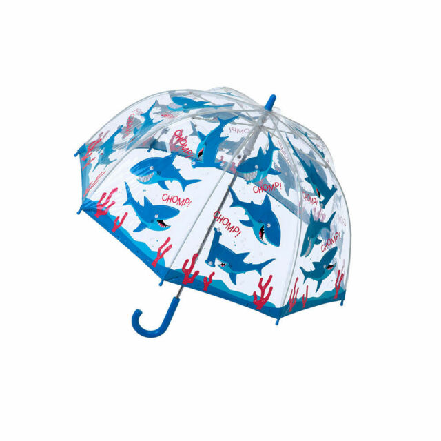 Bugzz Clear Dome Birdcage Kids Butterfly Umbrella