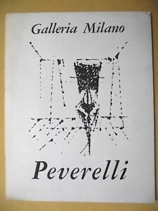 CATALOGUE-EXPOSITION-CESARE-PEVERELLI-GALLERIA-MILANO-1964