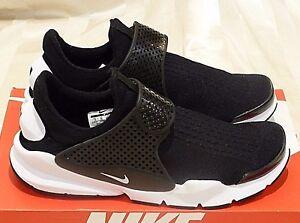 separation shoes 92076 27e20 Image is loading Nike-Sock-Dart-KJCRD-039-Black-White-039-