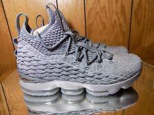 wholesale dealer 734bb ced4c Nike Lebron 15 XV size 12 Wolf Grey Metallic Gold. 897648-00