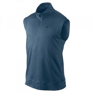 Nike Tour Premium Vest Nike Slim Fit Polo Pro Stay Warm Vest T-shirt Mens Size L