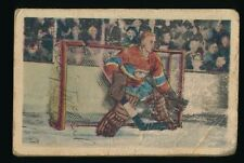 1952-53 Parkhurst Hockey #12 GERRY McNEIL (Montreal Canadiens) *HOF*