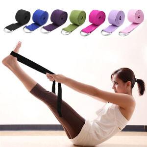 183CM-Adjustable-Yoga-Stretch-Strap-D-Ring-Belts-Waist-Leg-Fitness-Exercise-Band
