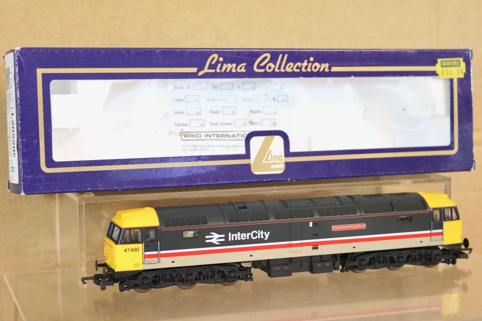 Lima 205209 Reacabados Scotrail Intercity Clase 47 Loco 47492 Enterprising Scot