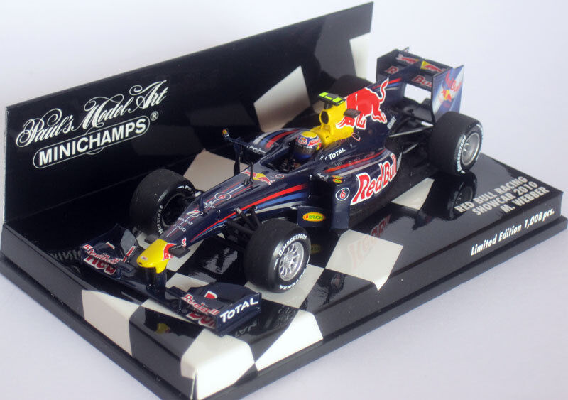 Minichamps  rojo Bull Racing - Mark Webber - Showcar 2010 400100076