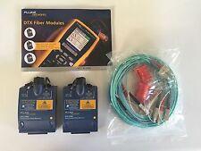 Pristine Fluke Networks DTX-SFM2 SM Fiber Modules DTX-1800 Warranty