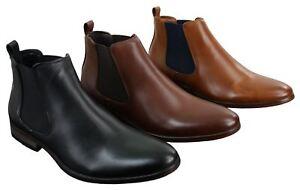 54b695e4e3e9 Bottines homme design italien simili et cuir sans lacets style chic ...