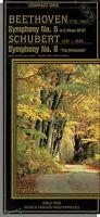 Beethoven - Symphony No 5 + Schubert - Symphony No 8 - Long Box Cd