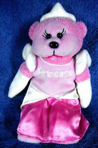 1913b-Princess-Bear-Skansen-Beanie-Kids-plush-20cm