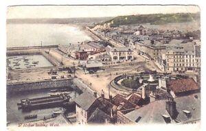 Saint-Helier-Jersey-DOCK-HARBOUR-CHANNEL-ISLANDS-CI-C-I-OLD-POSTCARD