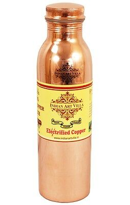 Joint free Leak Proof Copper Travel Thermos water Bottle 550 ML Health Benefits