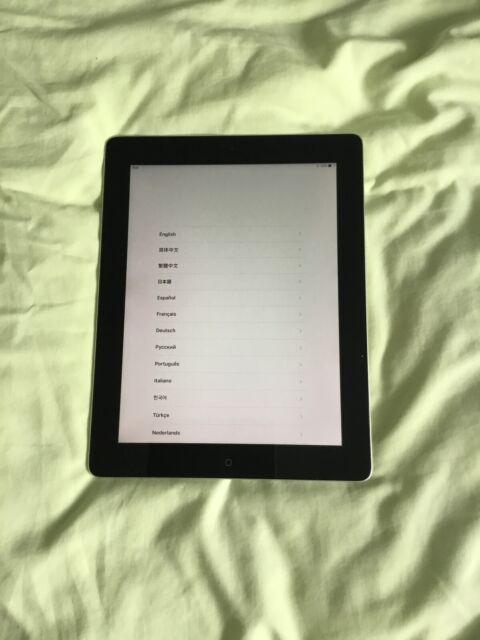Apple iPad 4th Gen. 32GB, Wi-Fi, 9.7in - Black