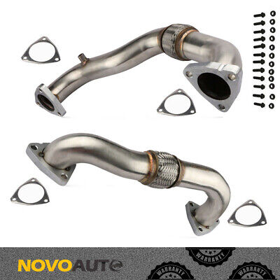 08-10 FORD F-250 F-350 6.4L V8 Super Duty Powerstroke Diesel Exhaust Up Pipe Kit