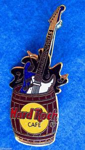 Niagara-Cascadas-Canada-Prototipo-Marron-Barril-Strat-Guitar-Hard-Rock-Cafe-Pin