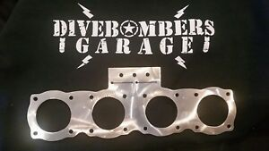 2 1/8 Gauge Panel Bomber style Custom quad gauge Gasser Hot Rod Bezel rat rod