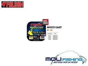 MONOFILAMENT-PECHE-SURFCATING-BAS-FALCON-MULTI-INTERPRETES-250-M-MULTICOLORE