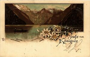 CPA-AK-Konigssee-Gruss-vom-Konigsee-GERMANY-879479