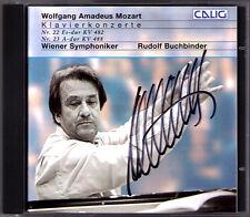 Rudolf BUCHBINDER Signiert MOZART Piano Concerto No.22 & 23 CD Klavierkonzerte