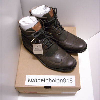 Mens Boots Levis Shoes New 5Ebay Brown Maine Size 8 Dark Lace Leather Up bvIyY7gf6
